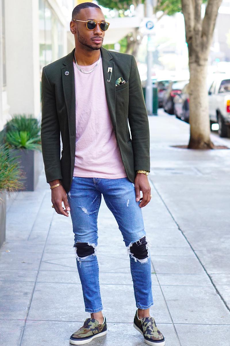 distressed jeans blazer3