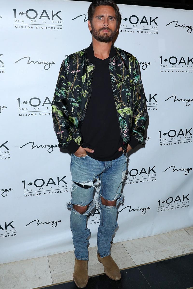 distressed jeans bombert