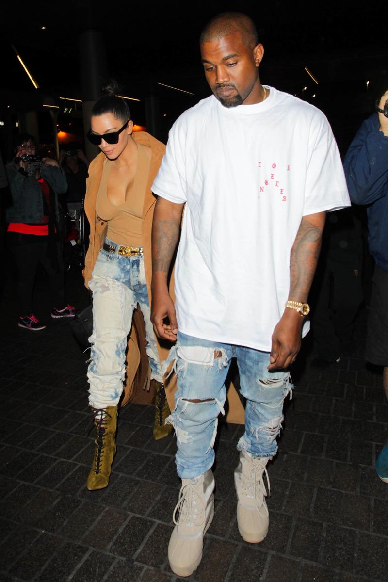 distressed jeans tshirt