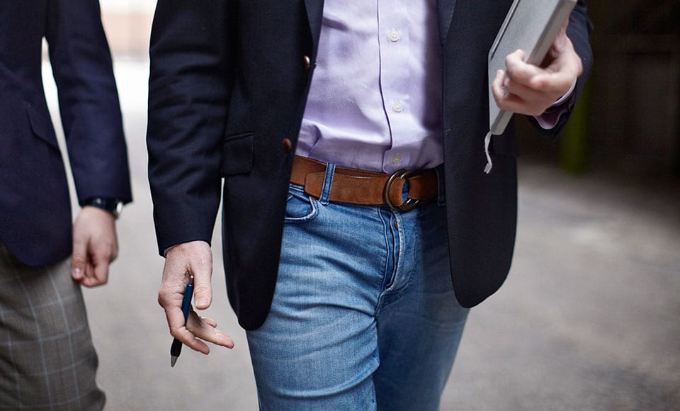 How To Wear A Blazer With Jeans Modern Man S Guide