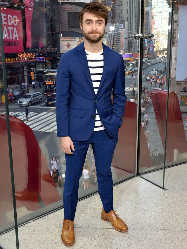 To with navy wear men shoes what blue How To