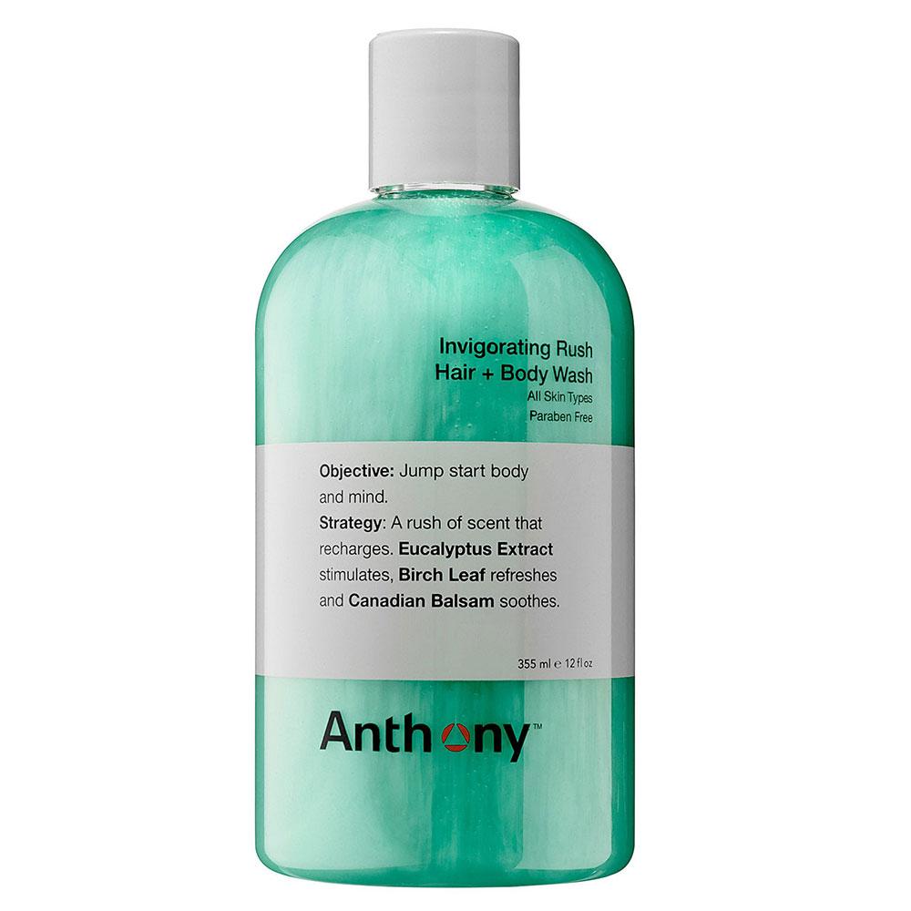 Anthony Invigorating Rush Hair & Body Wash