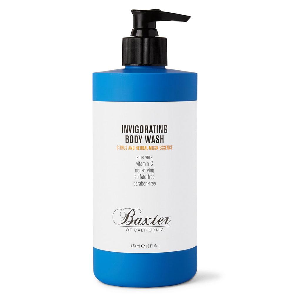 Baxter of California Invigorating Body Wash Citrus and Herbal Musk, 473ml