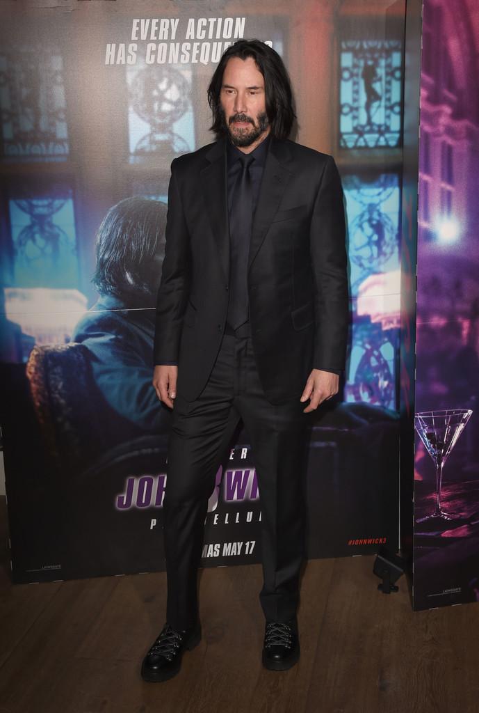 Keanu Reeves Rocked 'Tactical' Footwear