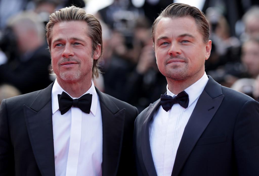 Brad Pitt & Leonardo DiCaprio Looked Freakishly Alike At The Cannes Film Festival