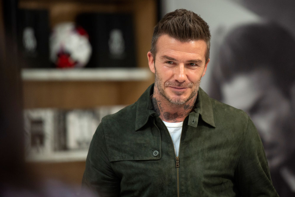 David Beckham's Airport Style Will Put Your Finest Flying Pyjamas To Shame