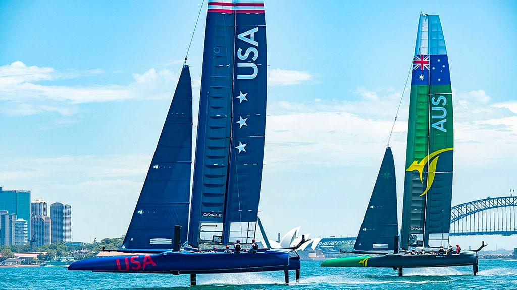 "Watch: Australian GP Sailor Reveals The Dangers Of ""1000kg Of Downforce"" On A Razor Sharp Yacht"