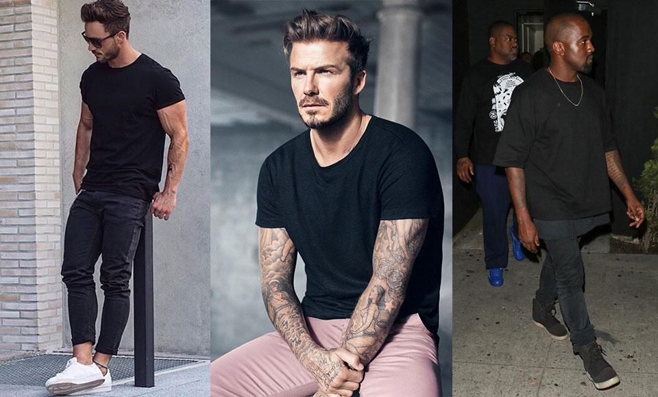 How To Wear A Black T Shirt Modern Men S Guide