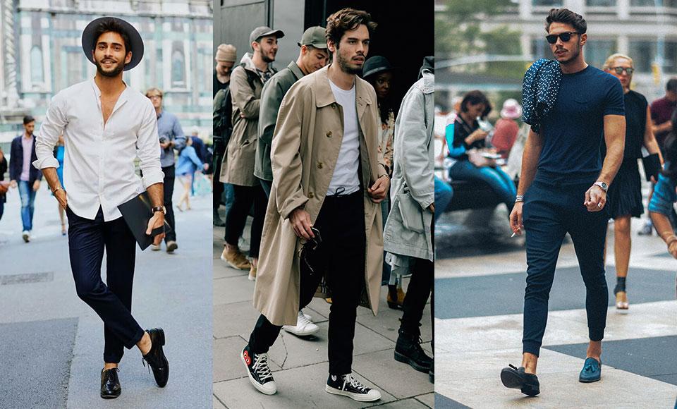 men in casual