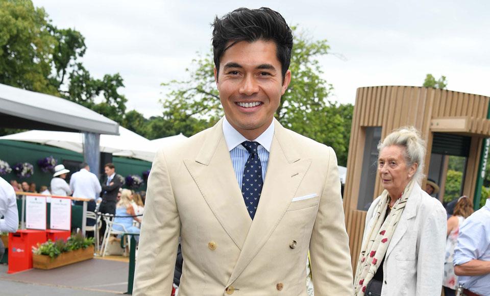Henry Golding Went Full 'Crazy Rich Asian' With A $64,000 Wimbledon Watch