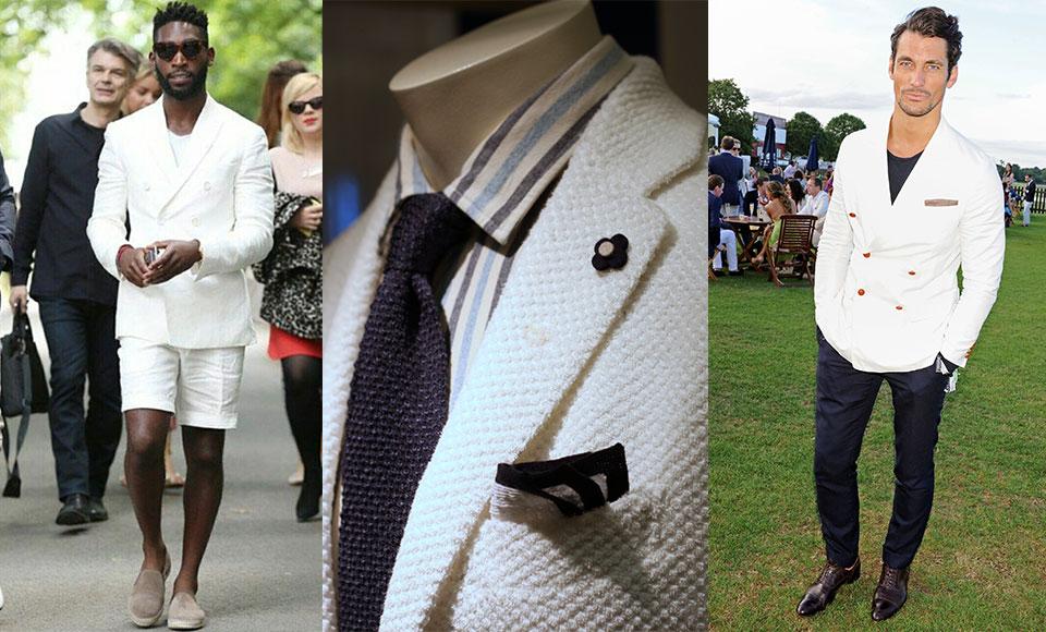 How To Wear A White Blazer - Modern Men