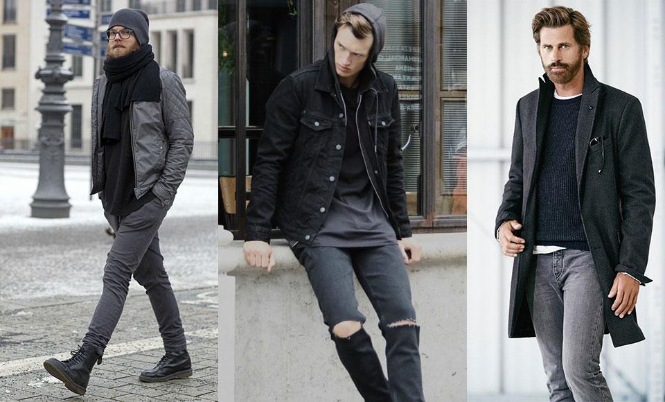 How To Wear Grey Jeans - Modern Men's Guide