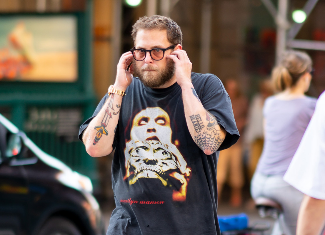 Jonah Hill Spotted Wearing John Mayer's Rolex In New York City