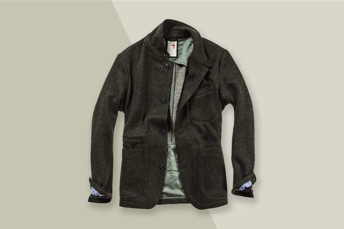 This Rugged Men's Blazer Is Your Perfect Winter Companion