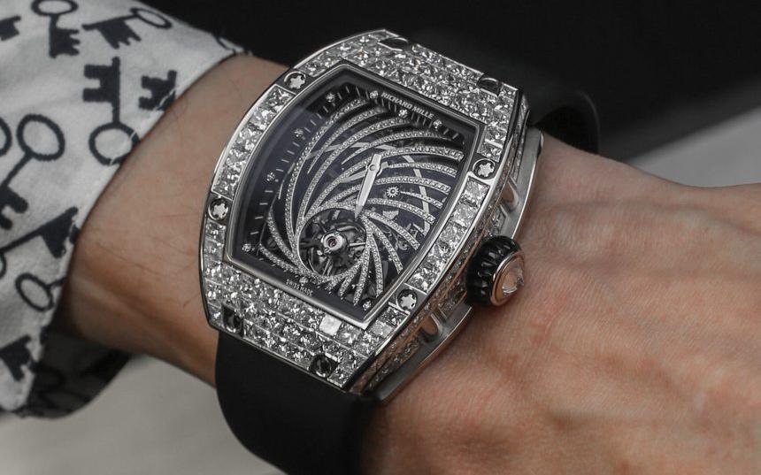 $840,000 Diamond Richard Mille Watch Stolen In Brazen Watch Theft