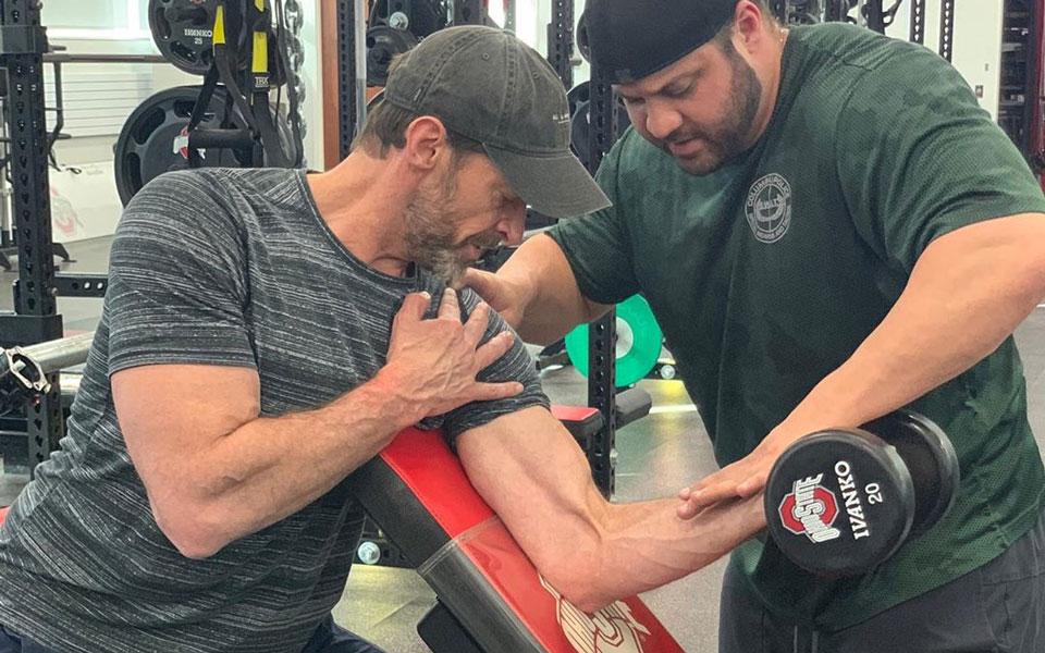 Hugh Jackman's New Workout Reveals The Secret To Wolverine Arm Strength
