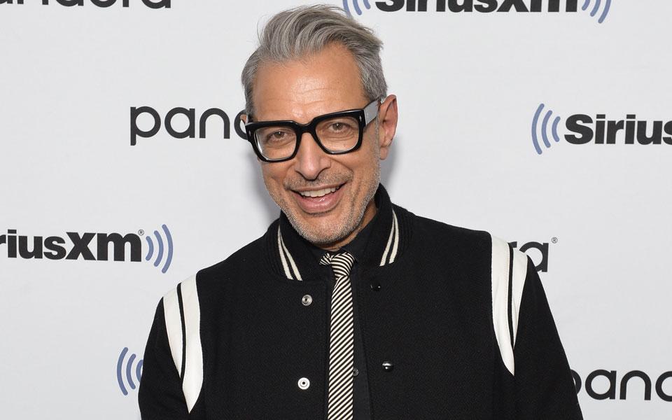 Jeff Goldblum Can't Stop Wearing His Favourite Saint Laurent Jacket
