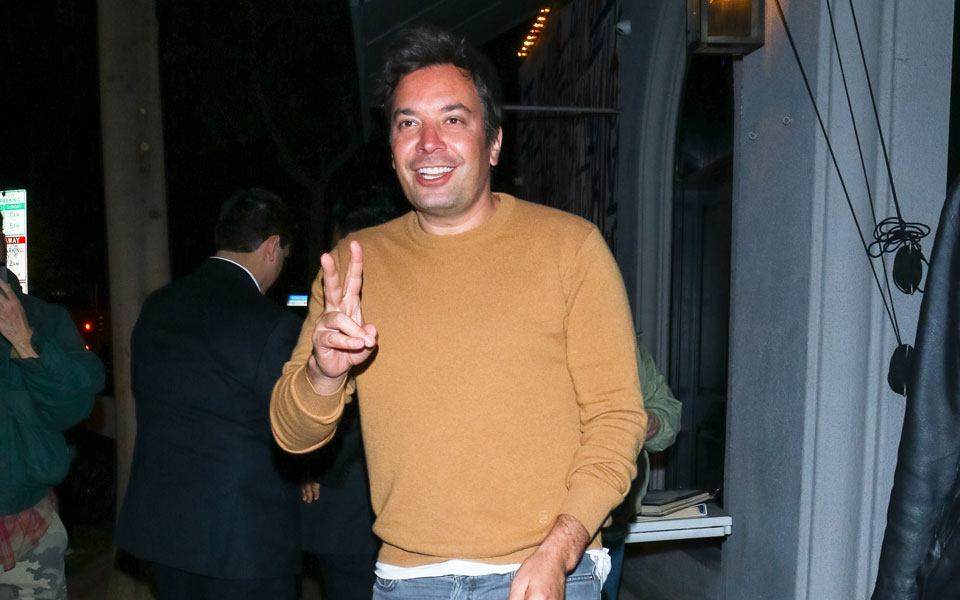 Jimmy Fallon's Big Sneaker Energy Will Have You Reaching For Your Sunglasses