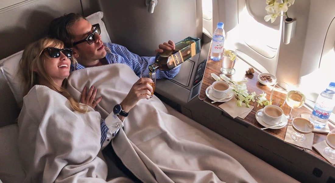 First Class Etiquette Rules Business Class Passengers Have No Idea About