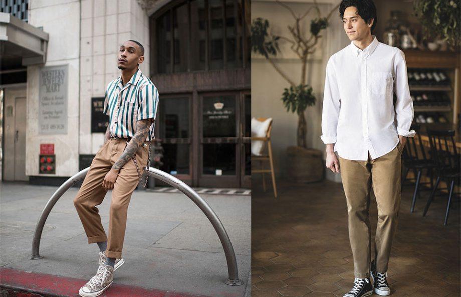 chuck taylor high cut fashion