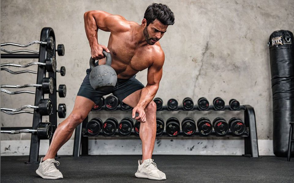 This Upper Body Kettlebell Circuit Will Have You Looking Like Thor