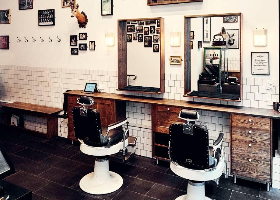 The Barber Shop, Sydney, interior