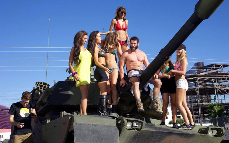 Dan Bilzerian Flaunts Gun Collection That Could Start World War III