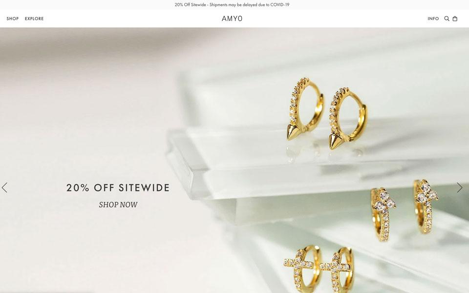 amy online jewellery store
