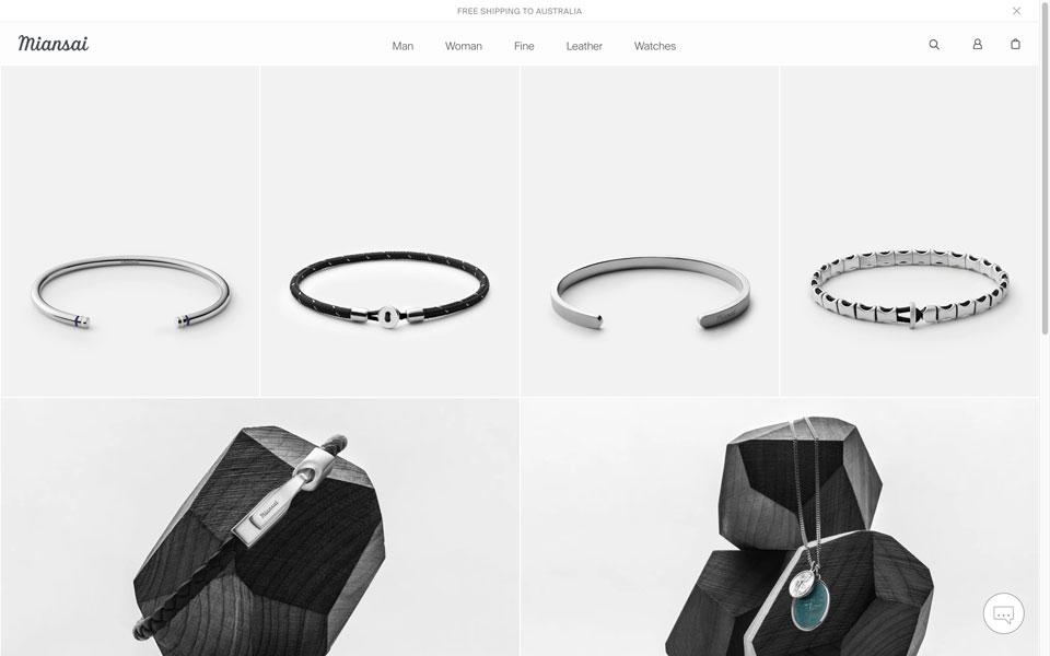 miansai online jewellery store