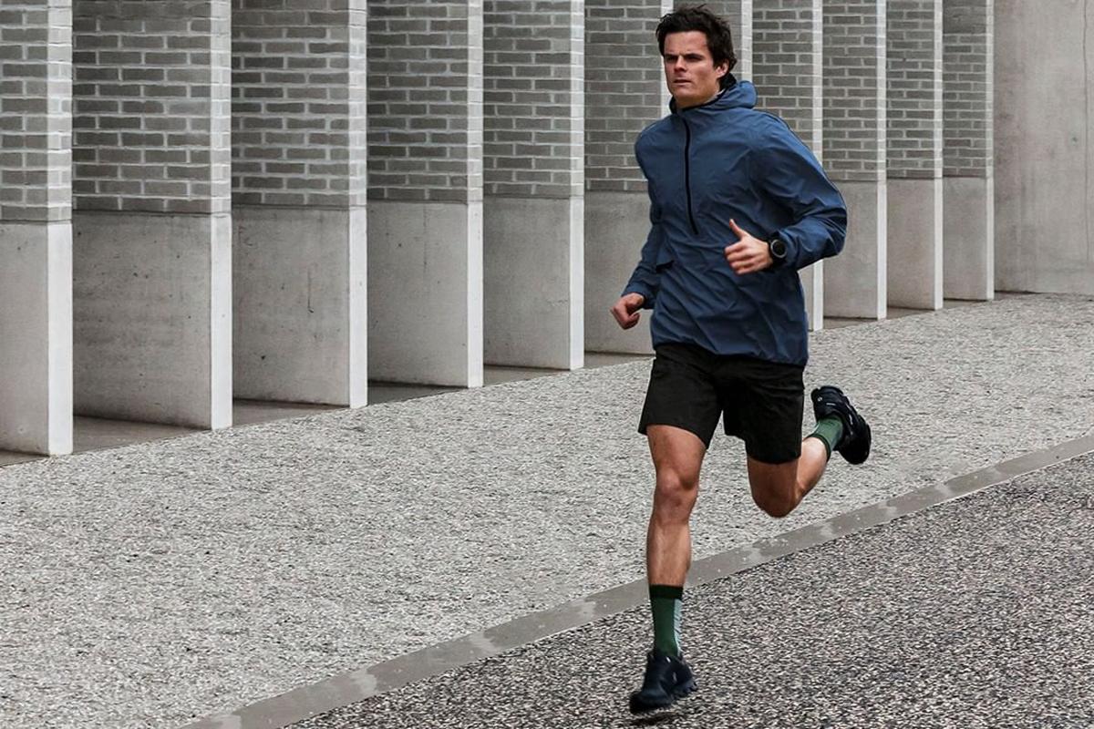 new balance mens running jacket