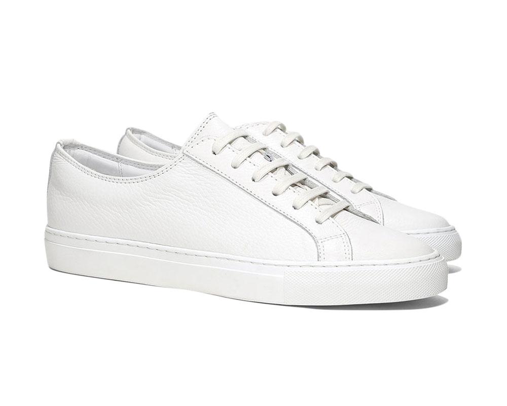 Best White Sneakers - Aurélien White Cambridge Sneaker