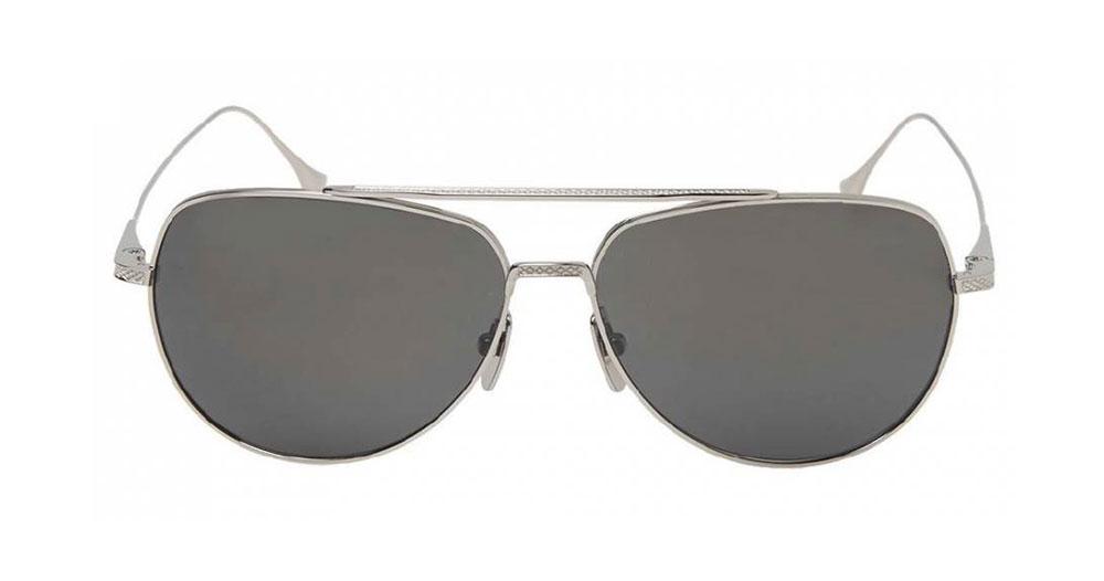 Dita Flight.004 Sunglasses Black Palladium Dark Grey
