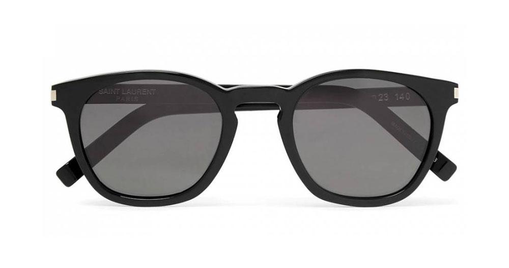 Saint Laurent D Frame Acetate Sunglasses