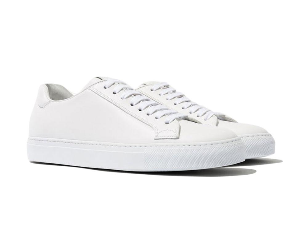 Best White Sneakers - Scarosso Ugo Bianco Sneakers