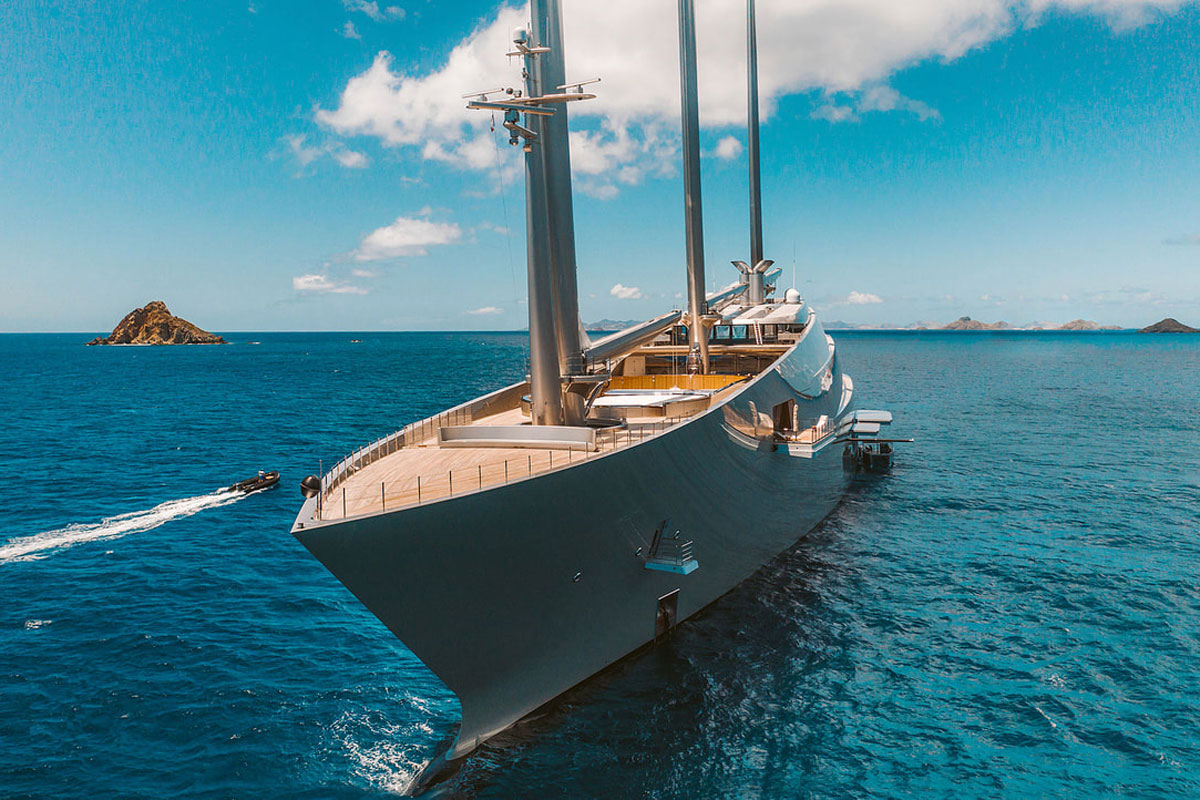 Jaw Dropping French Riviera Video Reveals 'Embarassing Reason' SuperYachts Never Open Their Sails
