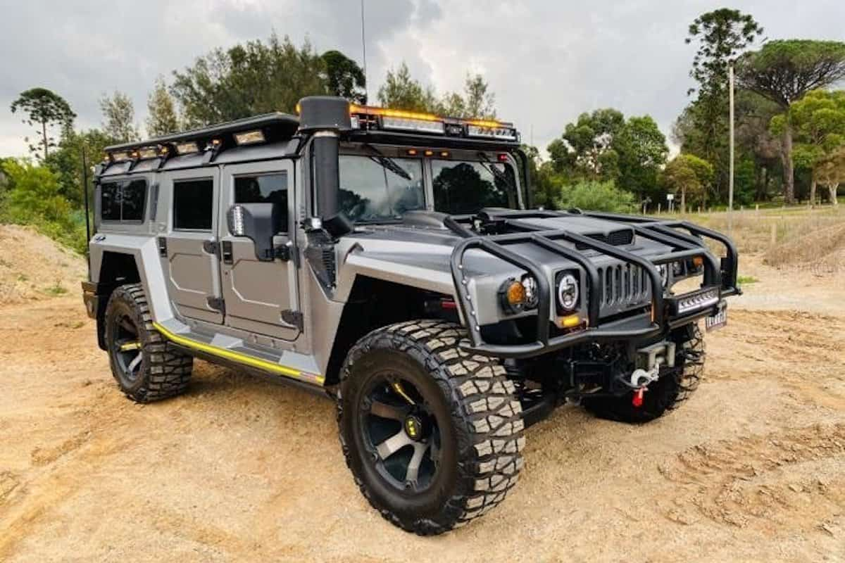 $350,000 Modified Hummer H1 Most Ludicrous Car In Australia