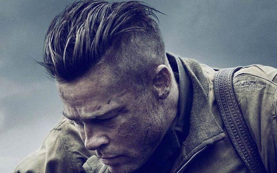 Brad Pitt Haircut - Undercut