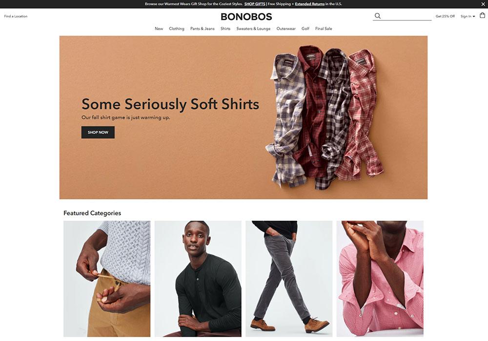 Bonobos Online Shop