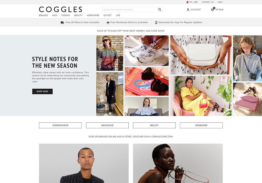 Coggles Online Shop