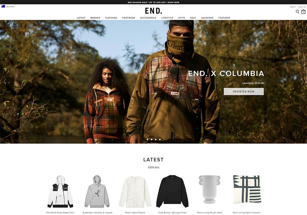 End Clothing Online Shop