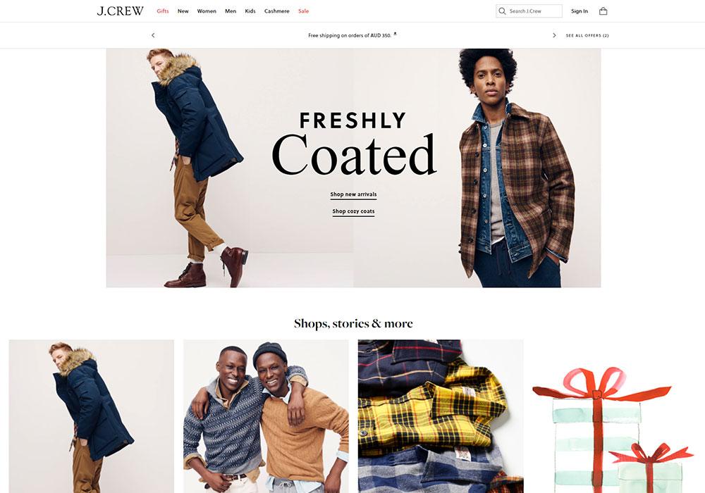 J. Crew Online Shop