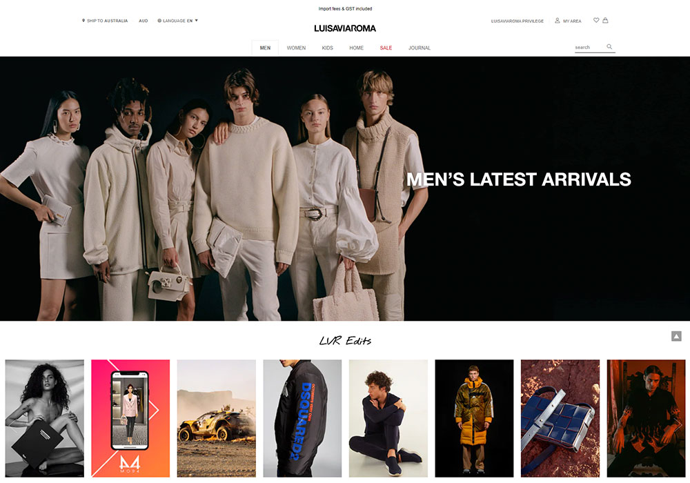 Luisa Via Roma Online Shop