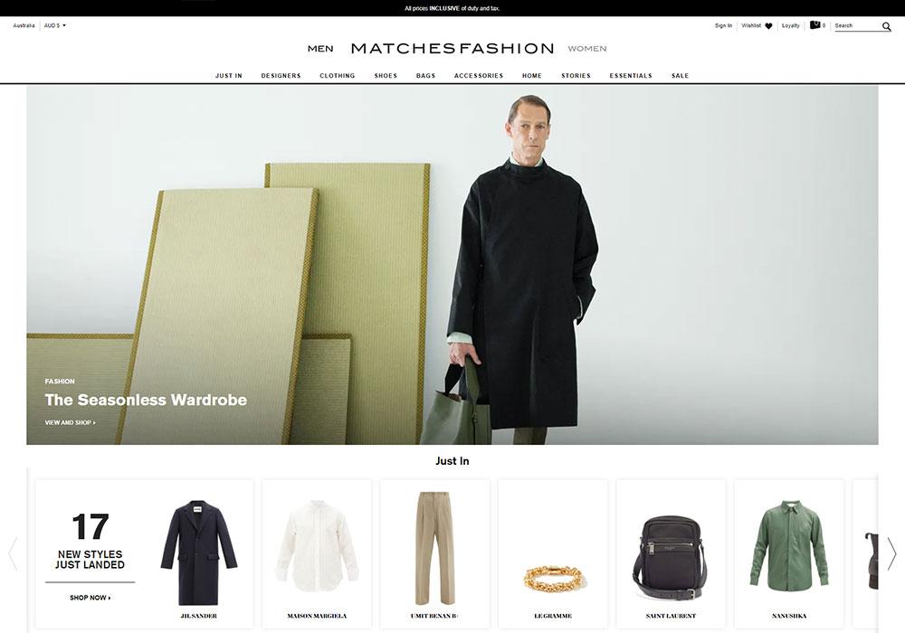 Matches Fashion Online Shop