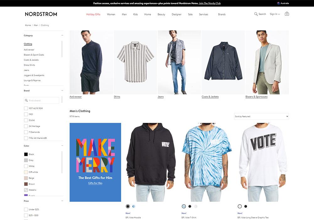 Nordstrom Online Shop