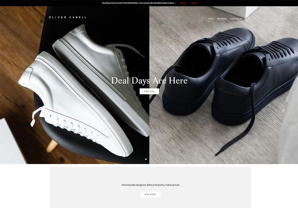 Oliver Cabell Online Shop