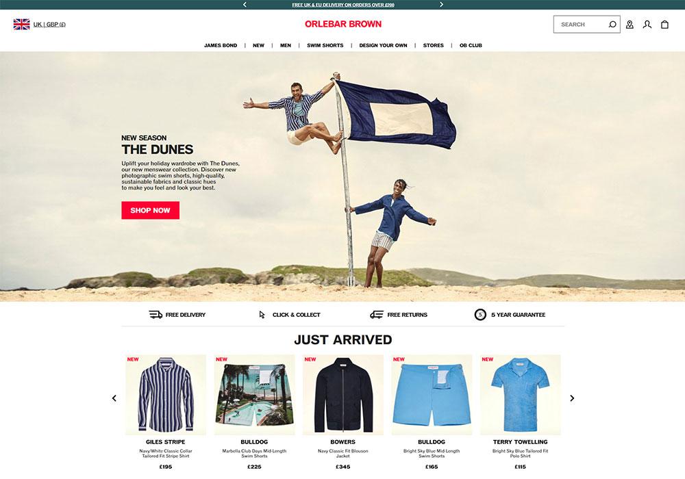 Orlebar Brown Online Shop