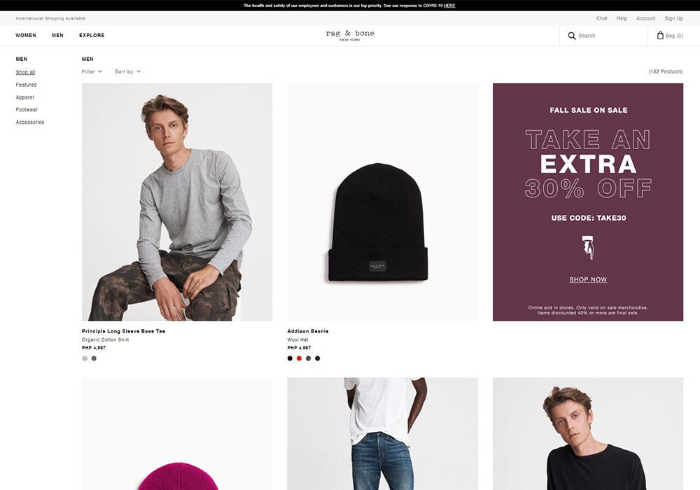 Rag & Bone Online Shop