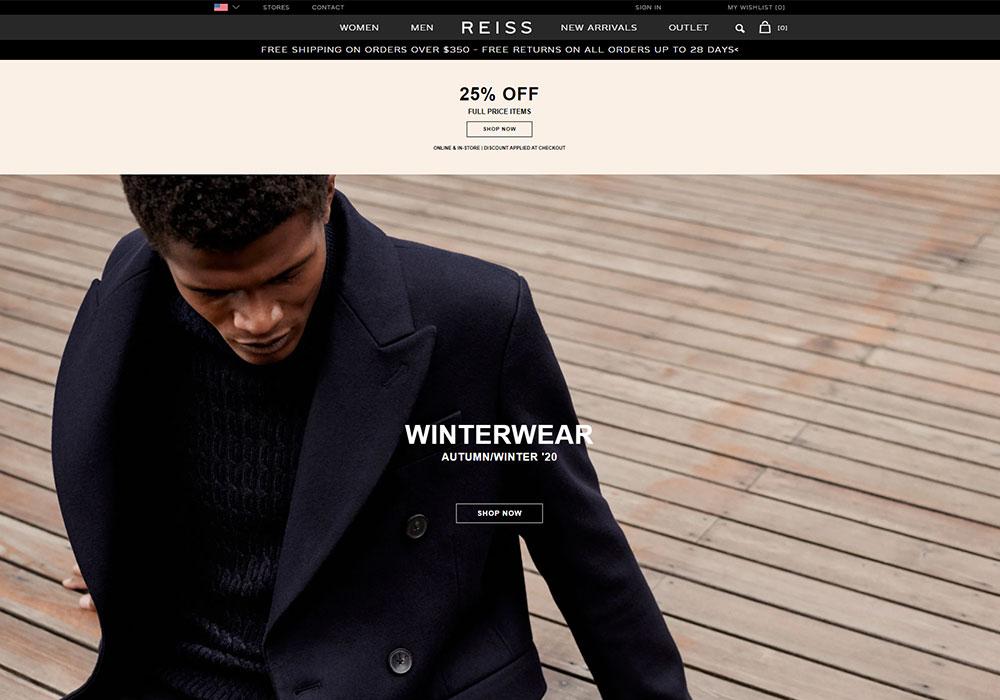 Reiss Online Shop