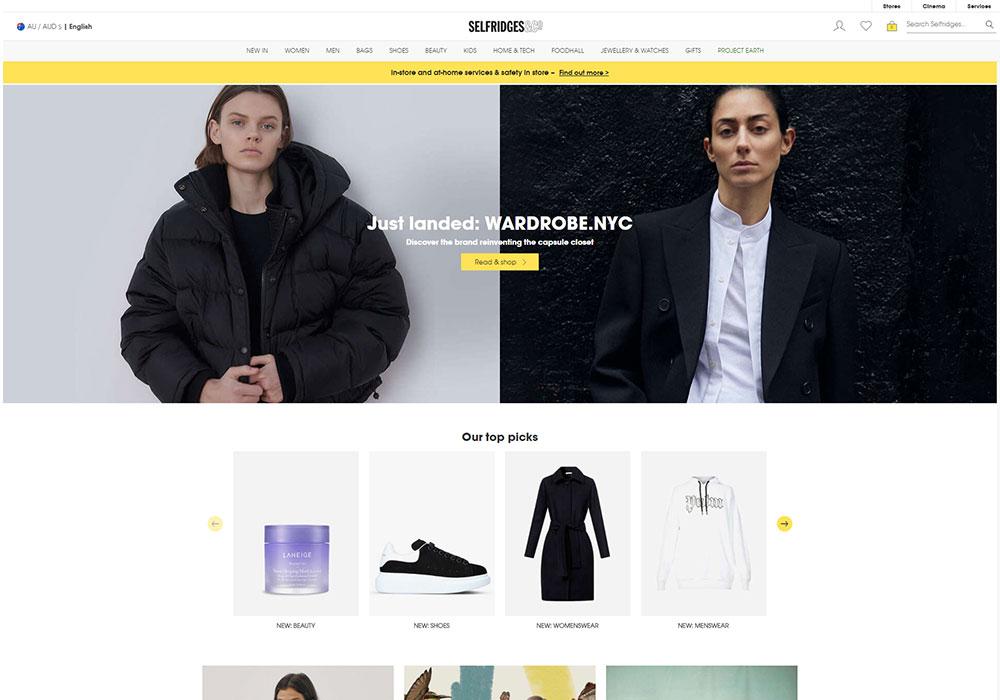 Selfridges Online Shop