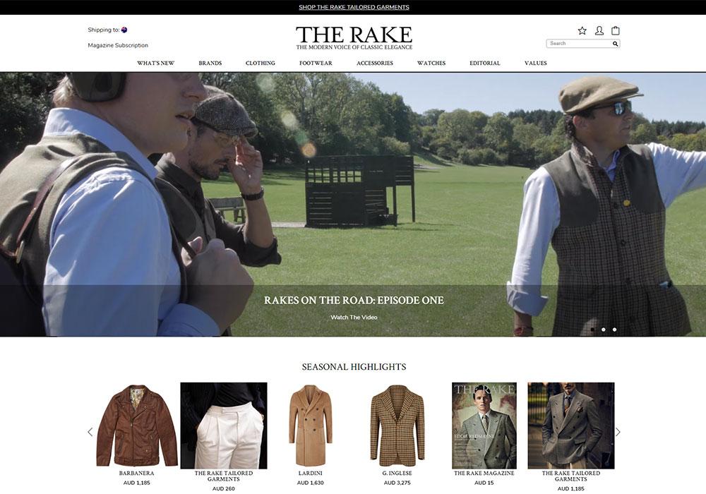 The Rake Online Shop